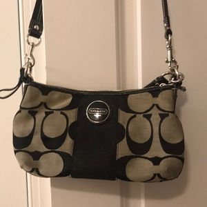 Small Coach Black Crossbody